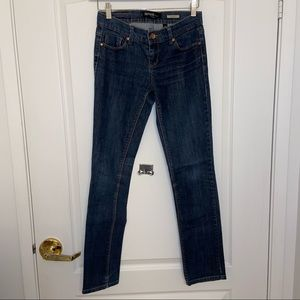 Kensie Denim Jennifer straight Leg Jeans